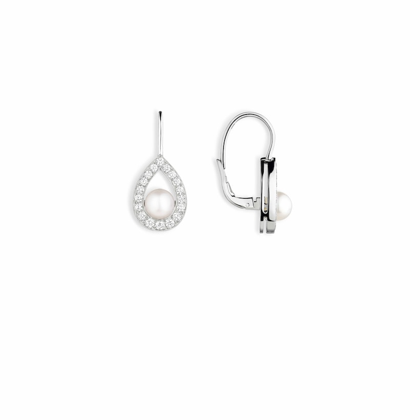 Joséphine Aigrette earrings - White Gold - Chaumet