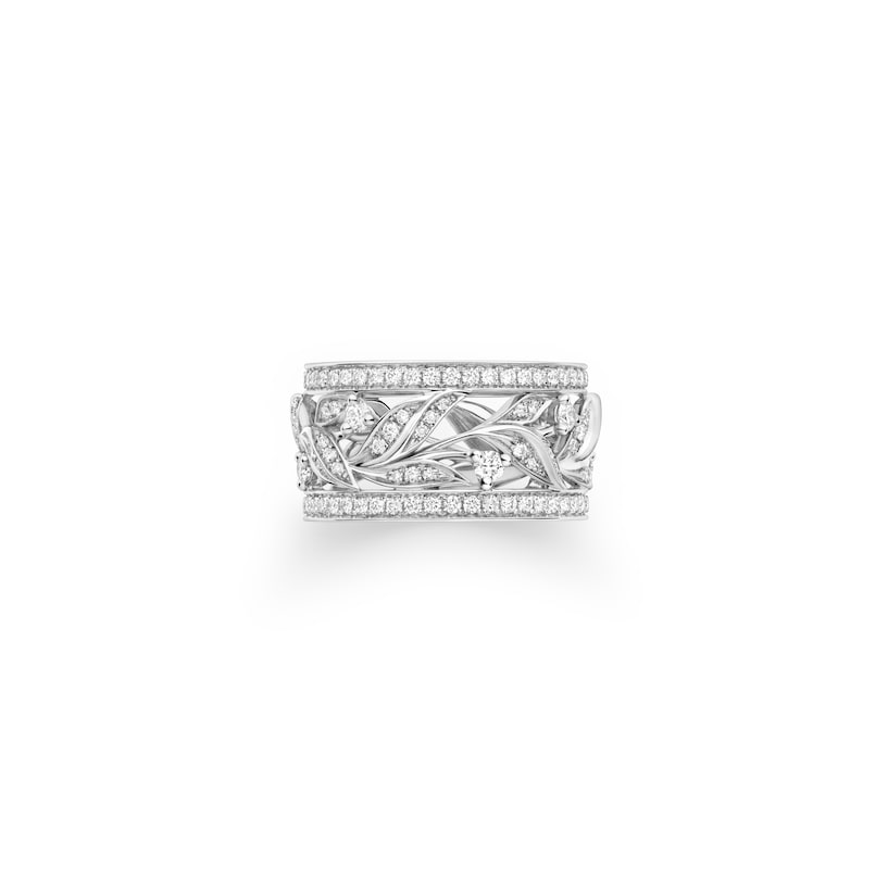 Laurier Ring - White Gold - Chaumet