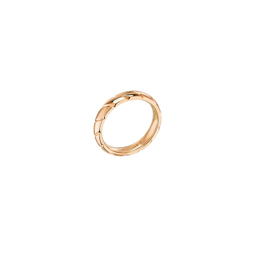 Torsade de Chaumet wedding band - Pink Gold - Chaumet