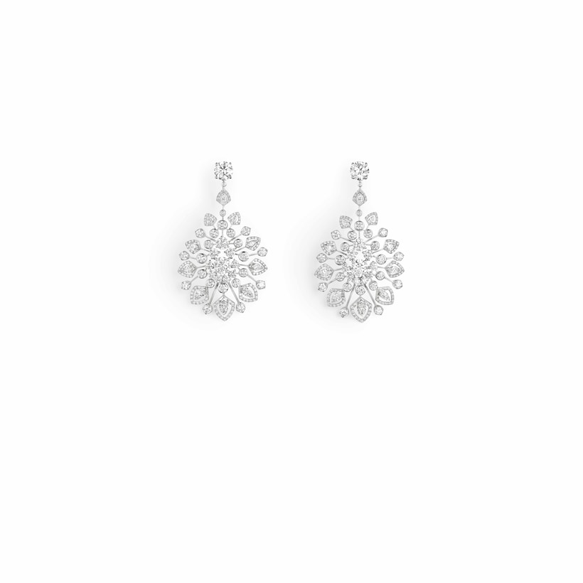 """Promenade Impériale"" earrings - White Gold - Chaumet"