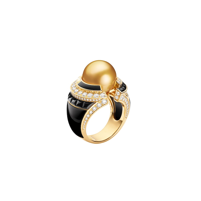 Labyrinthe ring - Yellow Gold - Chaumet