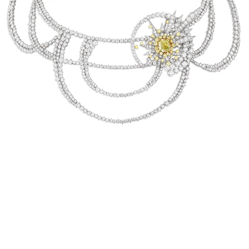 Collier Soleil Glorieux - Or blanc - Chaumet