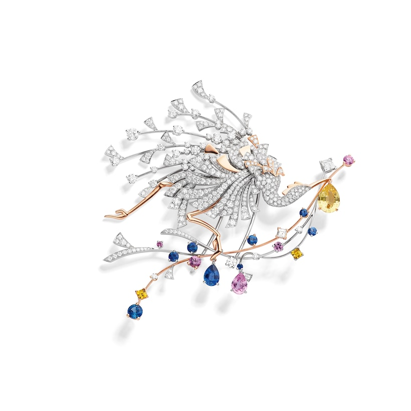 Parade brooch - White Gold - Chaumet
