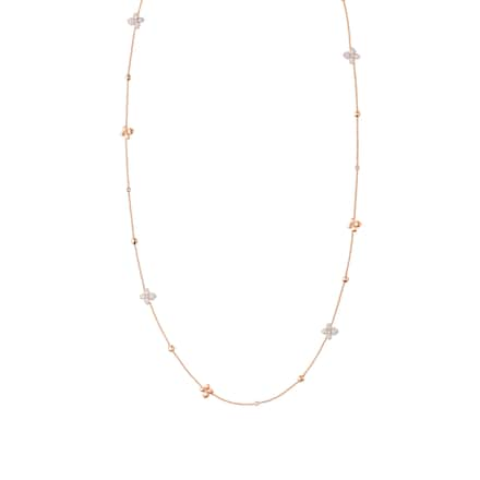 Hortensia Astres d'or long necklace - Pink Gold - Chaumet