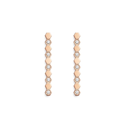 Boucles d'oreilles Bee My Love - Or rose - Chaumet