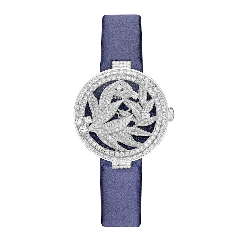 Laurier Secret Watch Medium Model - White Gold - Chaumet