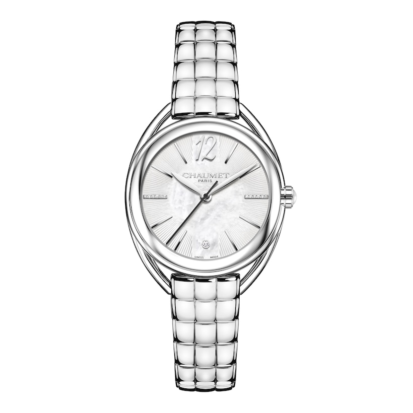 """Liens Lumière"" Small Model watch - Stainless Steel - Chaumet"
