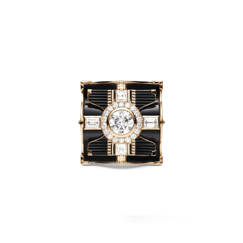 Sakura ring diamond - Pink Gold - Chaumet