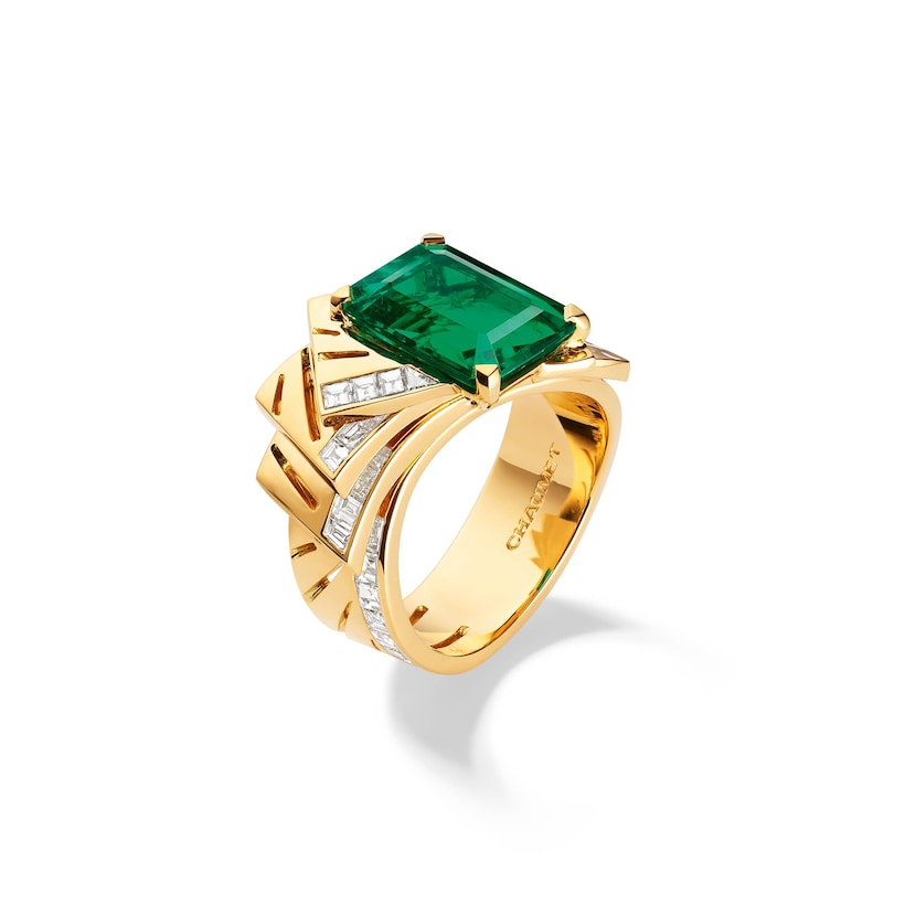 Skyline ring - Yellow Gold - Chaumet