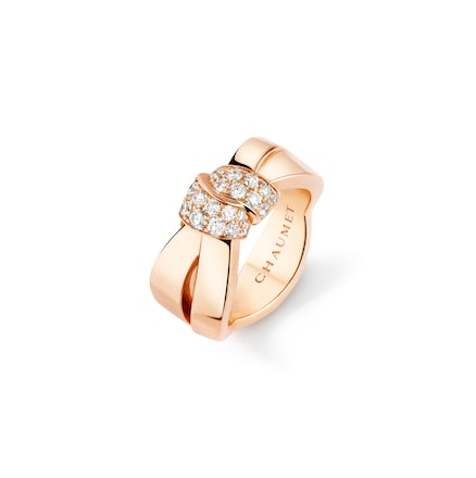Liens Séduction ring - Pink Gold - Chaumet