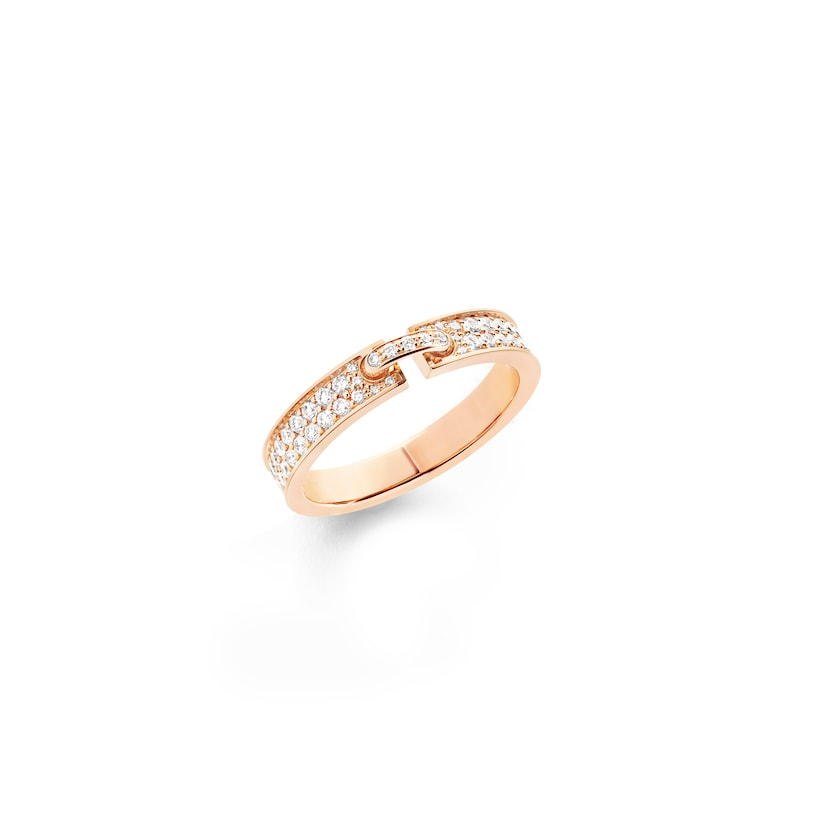 Liens Évidence ring - Pink Gold - Chaumet