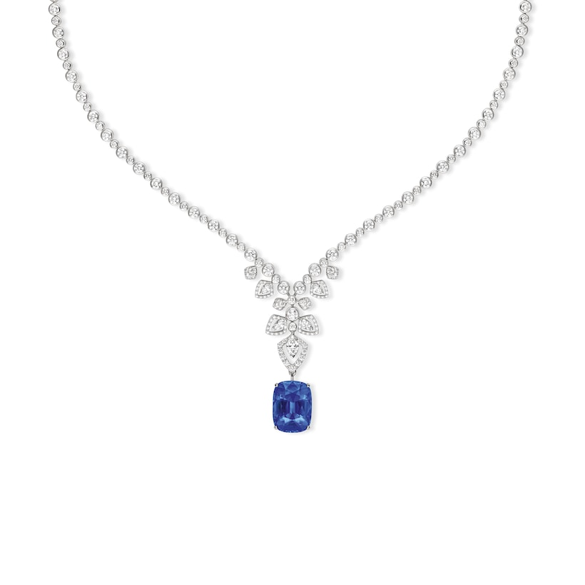 Souveraine de Chaumet transformable necklace Sapphire - White Gold - Chaumet