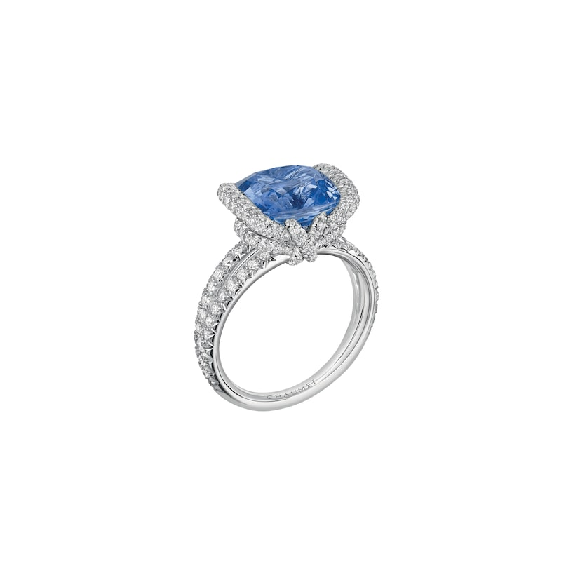 Liens d'Amour ring - White Gold - Chaumet