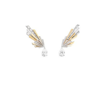 Nuages d'Or earrings - White Gold - Chaumet