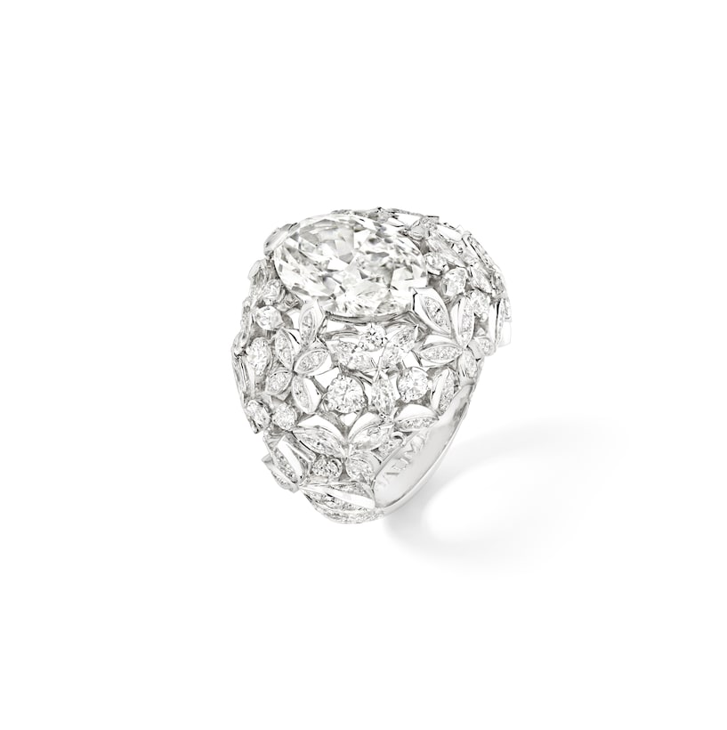 """""""Promenade Impériale"""" ring - White Gold - Chaumet"""