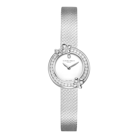 "Hortensia ""Eden"" Watches - Stainless Steel - Chaumet"