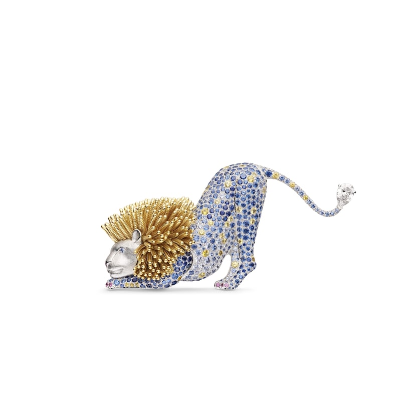 """Espiègleries"" brooch - White Gold - Chaumet"