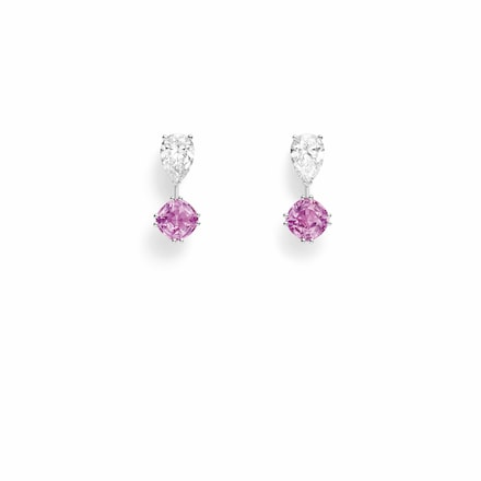 Joséphine Eclat Floral earrings - Platinum - Chaumet