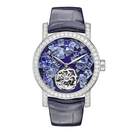 "Hortensia ""Voie Lactée"" watch Extra Large Model - White Gold - Chaumet"