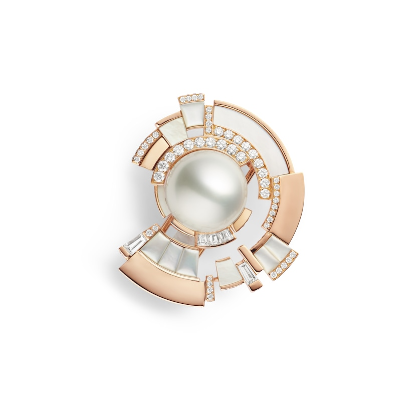 Broche Labyrinthe - Or rose - Chaumet