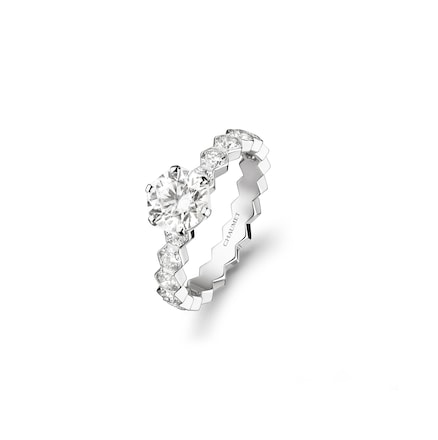 Bee My Love solitaire - White Gold - Chaumet