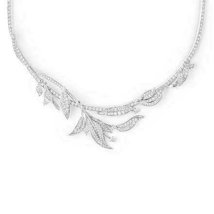Collier Laurier - Or blanc - Chaumet