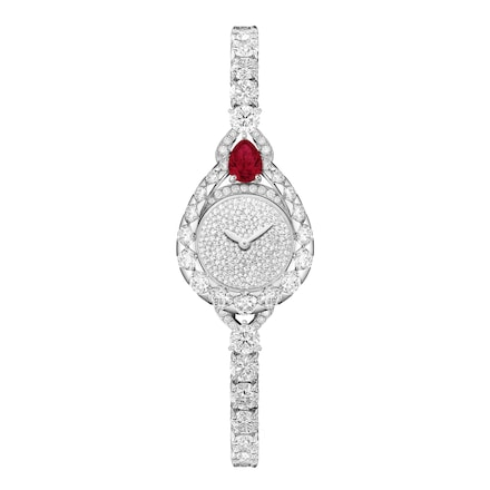 "Joséphine ""Aigrette"" watch, Extra Small model - Platinium - Chaumet"