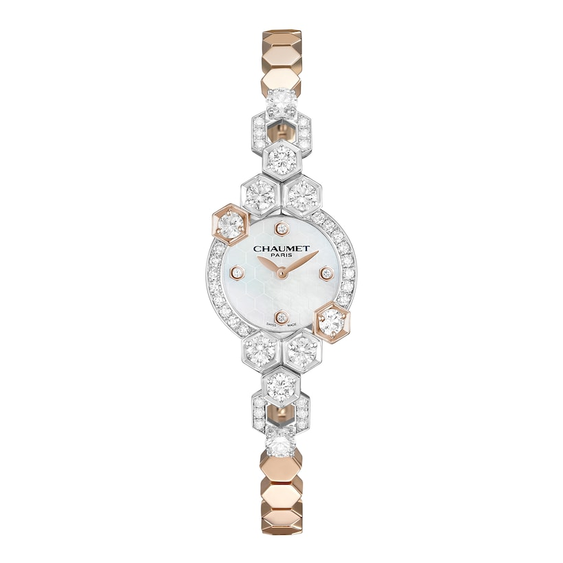Bee my love watch Extra Small Model - White Gold - Chaumet