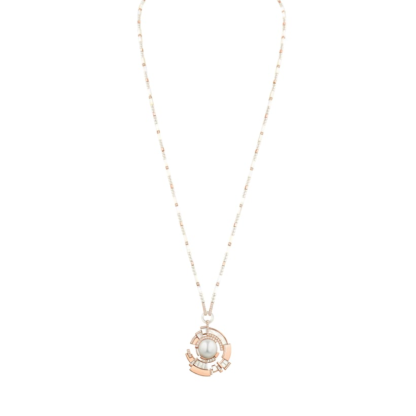 Collier Labyrinthe - Or rose - Chaumet