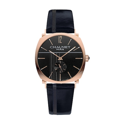Dandy watch Large Model - Pink Gold - Chaumet