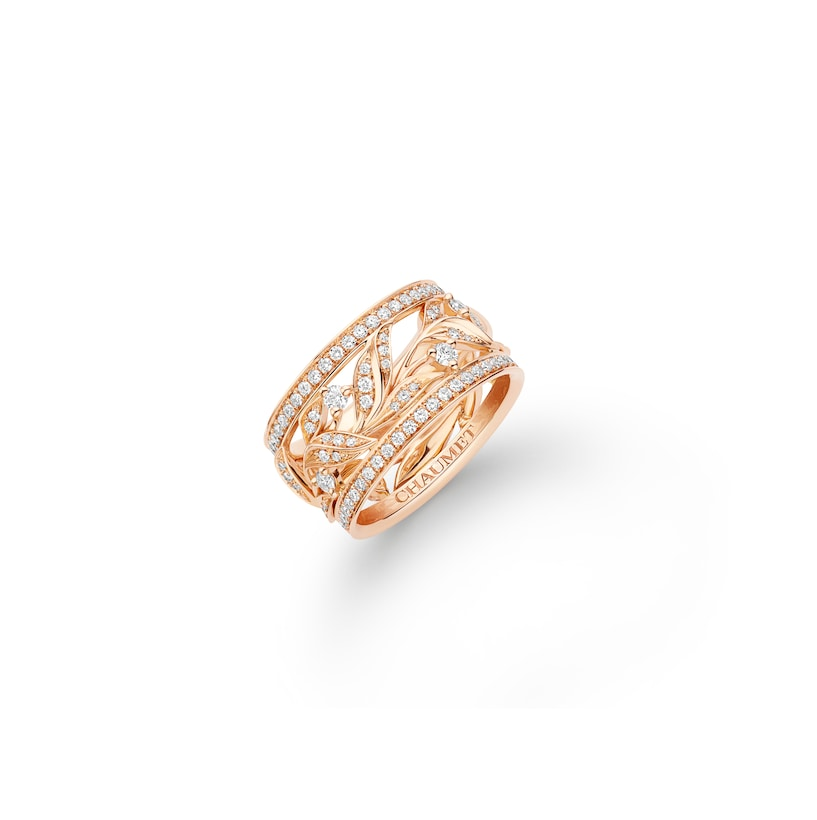 Laurier Ring - Pink Gold - Chaumet