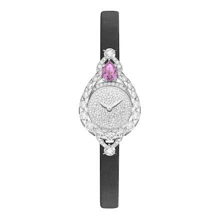 Joséphine Aigrette watch, extra small model  - Platinum - Chaumet
