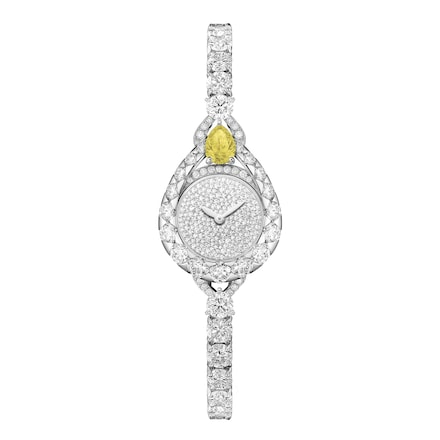Joséphine Aigrette watch, extra small model  - Platinium - Chaumet