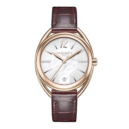 """Liens Lumière"" Medium Model watch - Pink Gold - Chaumet"