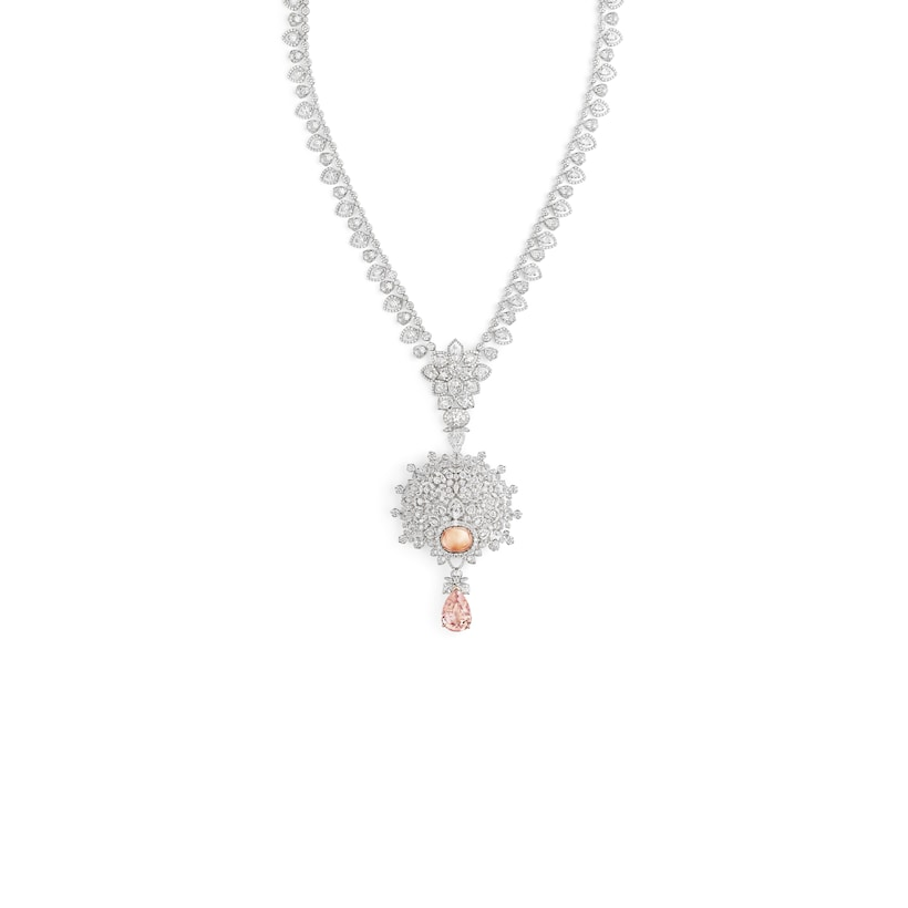 """Promenades Impériales"" necklace - White Gold - Chaumet"