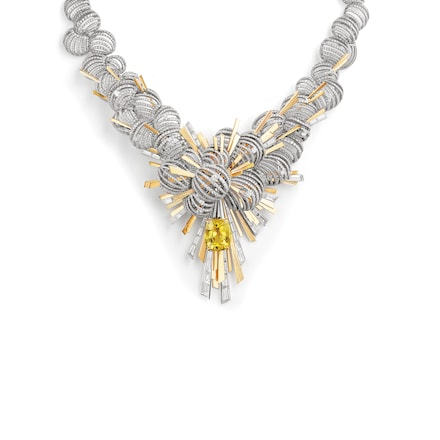 Collier Nuages d'Or - Or blanc - Chaumet