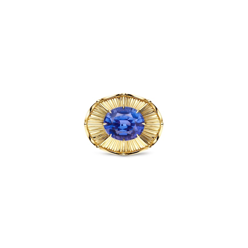 Qianlong ring tanzanite - Yellow Gold - Chaumet