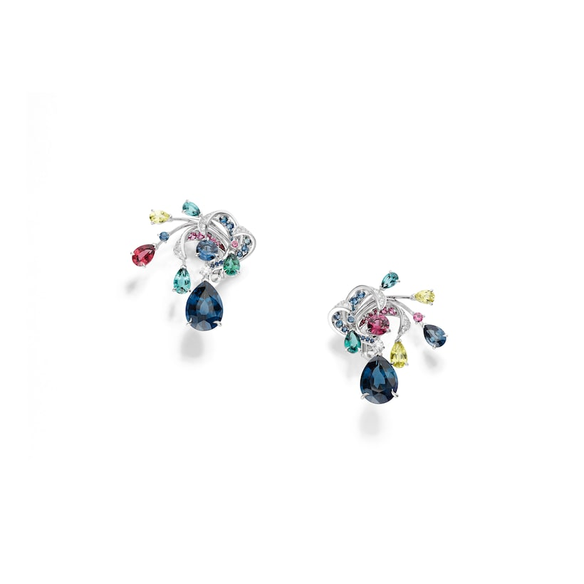 Soleil de Minuit earrings - White Gold - Chaumet