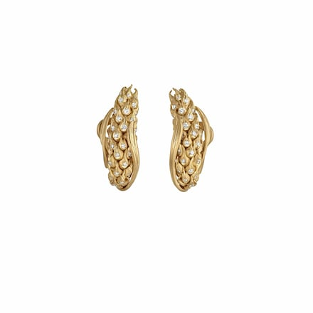 L'Epi de Blé de Chaumet earrings - Yellow Gold - Chaumet