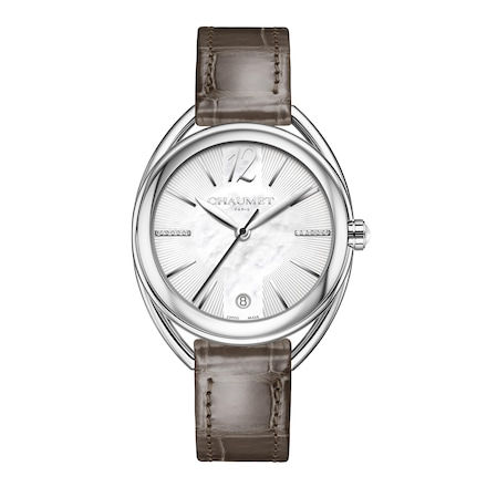 """Liens Lumière"" Medium Model watch - Stainless Steel - Chaumet"